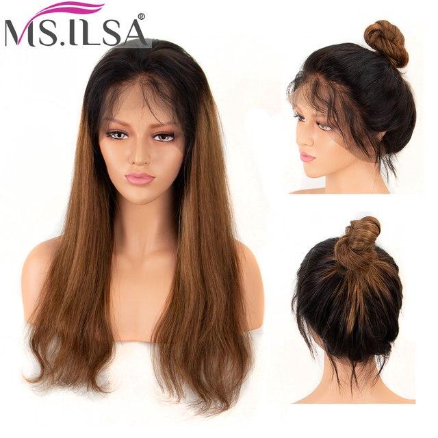 360 de encaje Frontal pelucas para mujeres Remy brasileño recto 150% de  densidad Peluca de fb45fc5b8a4a
