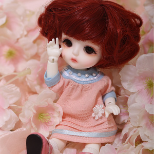 Image 4 - LCC Baby Miu 1/8 BJD SD Resin Figures Model Baby Dolls Eyes High Quality Gifts For Christmas Or Birthday