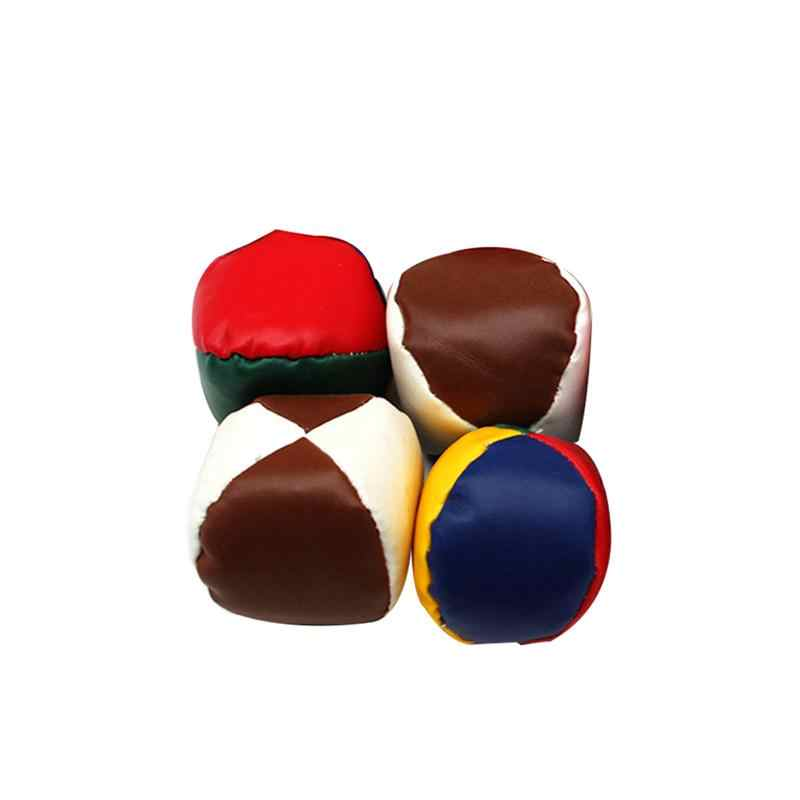 Incredible 4Pcs Juggling Balls Set Fun Soft Classic Leather Juggle Beanbags Party Toys For Kids Children 2019 New Arrival Dailytribune Chair Design For Home Dailytribuneorg