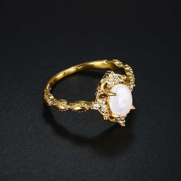 14K Gold รูปไข่เพชรแหวน S925 Peridot Bague พลอย Bizuteria เครื่องประดับแหวนผู้หญิงสีขาว Topaz แหวนเงิน 925 กับกล่อง