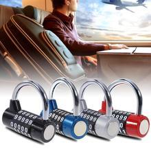 5 цифр циферблат Комбинации кодовый номер замок для Чемодан мешок с застежкой-молнией рюкзак чемодан с выдвижными ящиками для защиты от краж