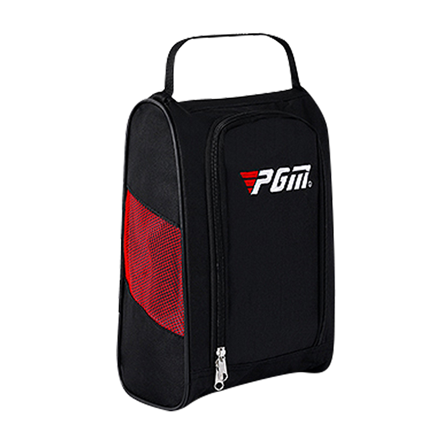 PGM حذاء جولف حقيبة خفيفة وعملية حقيبة سفر مقاوم للماء والغبار حقيبة أحذية
