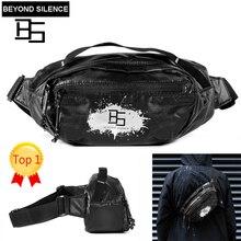 Beyond Silence BS handbag Travel Adjustable Waist Bag Fanny Pack Hip Money Cycling pochete Waterproof Crossbody men women 2019
