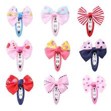 Bowknot Barrettes Children Casual Princess Party Hair Clip Hairpins Headwear 2019 New Year Hair Accessories Cute Kids Baby Girls(China)