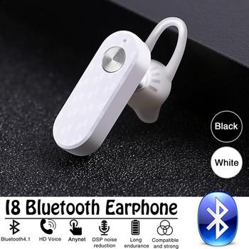 I8 Wireless Bluetooth Earphone  Long Standby Business Sports Dust-proof HD Call Portable Headphone For Xiaomi Iphone