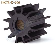 SHCTR гибкий крыльчатка для JABSCO 17936-0001, Джонсон 09-814B, CEF 500145,875814 842857 875697 21951364