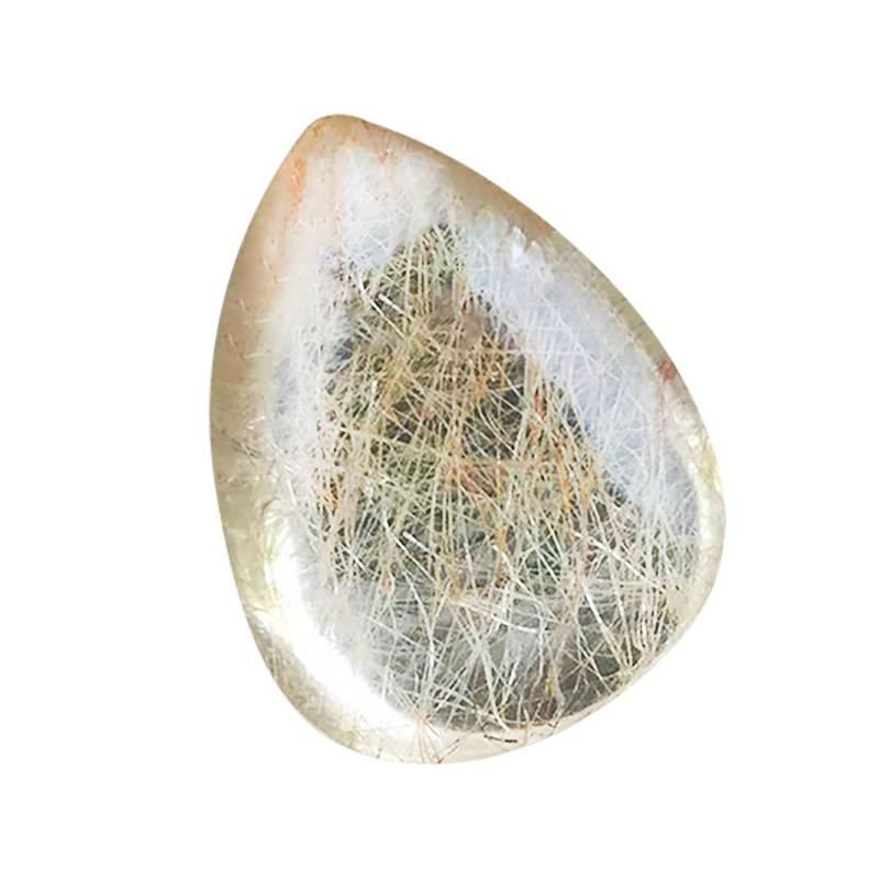 Specimens-Making Mineral Crystal Gold Home-Decoration Quartz Natural Jewelry Rutile Drop-Type