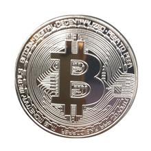 Коллекционная монета 1 шт., 38 мм, Биткоин, Позолоченные Бронзовые физические биткоины, биткоины Casascius, BTC, новогодний подарок, Необычные монет...