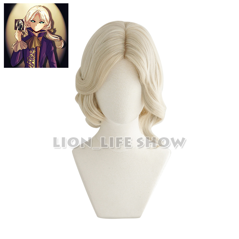 Game Identity V  Photographer Joseph Cosplay Wigs Heat Resistant Synthetic Wig Halloween Carnival Party Cosplay Wig
