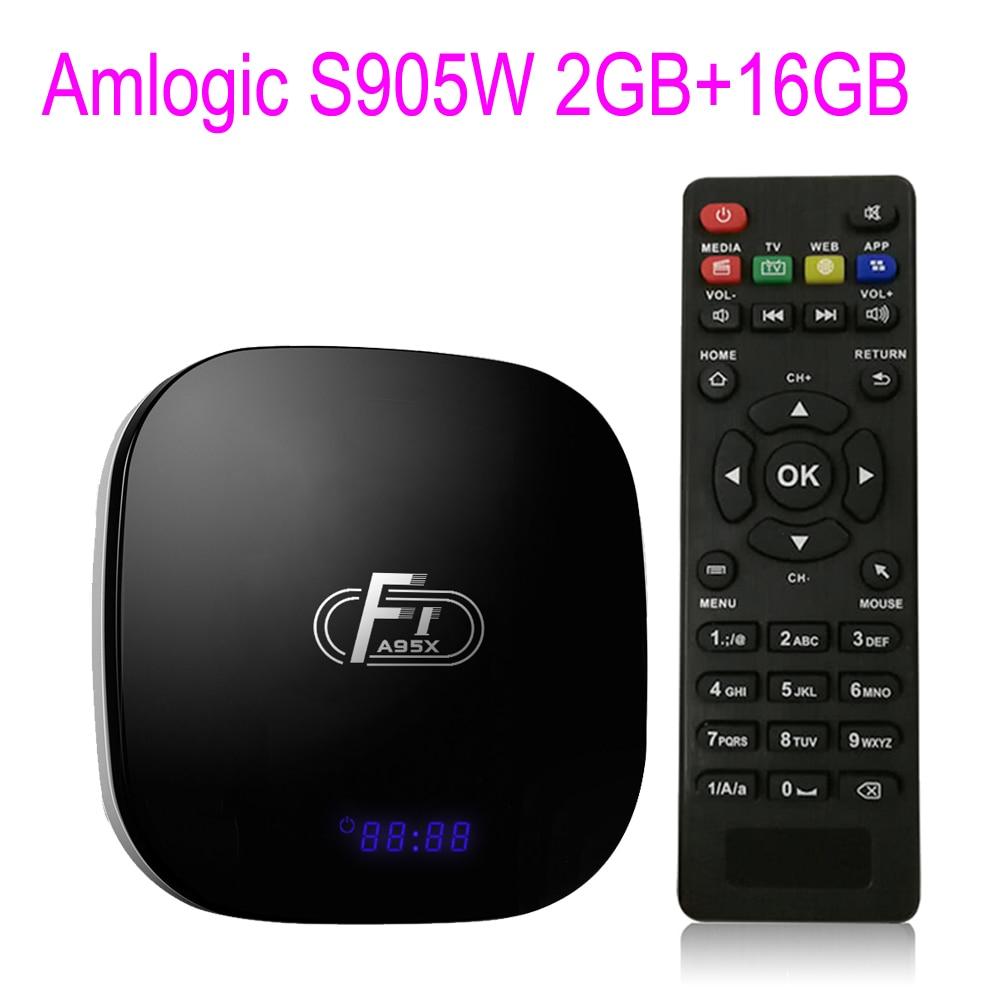 A95X F1 Smart TV Box Android 8 1 Set Top Box Amlogic S905W 4K 2G 16G