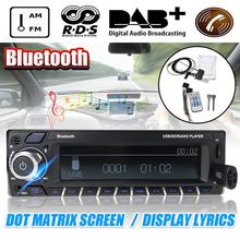 Dot Matrixs Screen Car bluetooth HiFi Radio Stereo Audio Power Amplifier DAB Rec