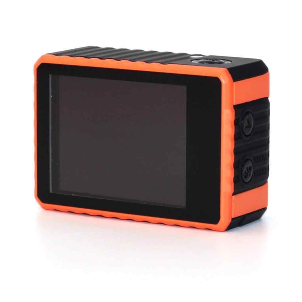 Экшн-камера для съемки под открытым небом, 4 K, Wi-Fi, Водонепроницаемый MP4 Дайвинг JPG годный для использования вне помещения миниатюрный спортивные возможностью погружения на глубину до 30 м (Водонепроницаемый чехол) Камера