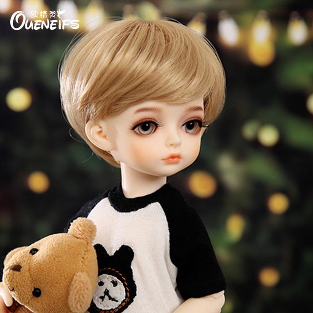 OUENEIFS Free Shipping Sandy 1/6 Body Model Baby Girls Boys Eyes High Quality Toys Shop Resin BJD SD Dolls