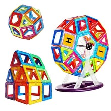 72 - 240 Pieces Mini Magnetic Model Building And Plastic Educational Toys Children Gift