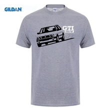 Cotton Hight Quality Man Tee Shirt Normal Short Sleeve T Shirts Golfer Gti 16V Retro Hot Hatch Car  Personality
