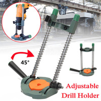 Adjustable Electric Angle Portable Drill Press Holder Positioning Guide Stand