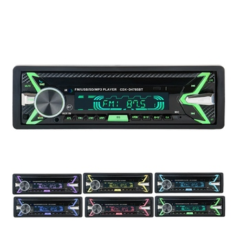 Bluetooth Universal MP3 Player Do Carro Painel Destacável 4785 Stereo Car Audio Player Controle Remoto USB/SD/Mmc leitor