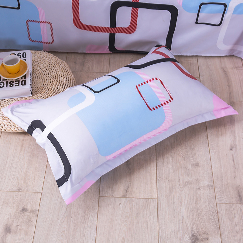 1 Piece 100% Polyester Pillowcase Knitted Pillow Case Cover For Children Adults Bedroom Use 48cm*74cm  50