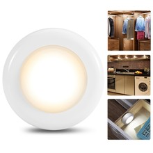 Wireless Touch Sensor Cabinet Light Adjustable LED Lights Under Kitchen Cabinets Ladder Corridor Night Lamp(China)