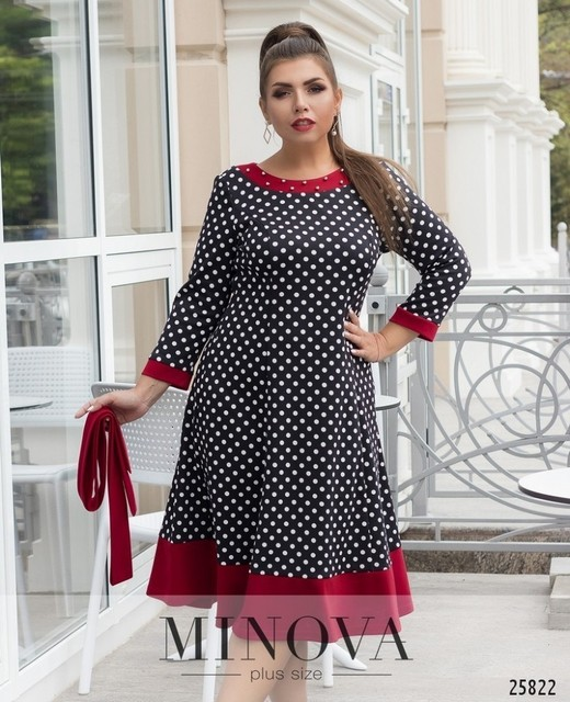 US $28.32 |Black Polka Dot Women Dress Plus Size Winter Party Dress Vintage  Christmas Dress 5XL 6XL Red Yellow Flare Dress Female Vestidos-in Dresses  ...