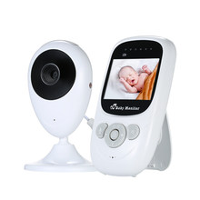 2019 LCD Nirkabel Audio Video Baby Monitor Tidur Radio Pengasuh Musik Dua Arah TalkBack 2.4in Kamera Bayi Bayi Walkie talkie(China)