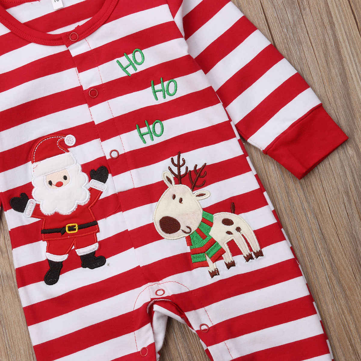 b2b07ce62 Detail Feedback Questions about Christmas Rompers Long Sleeve Baby ...