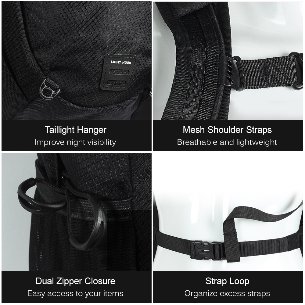 12 литровый рюкзак для велоспорта, легкий дышащий рюкзак для езды на велосипеде, рюкзак для активного отдыха, спортивный рюкзак, Аксессуары для велосипеда