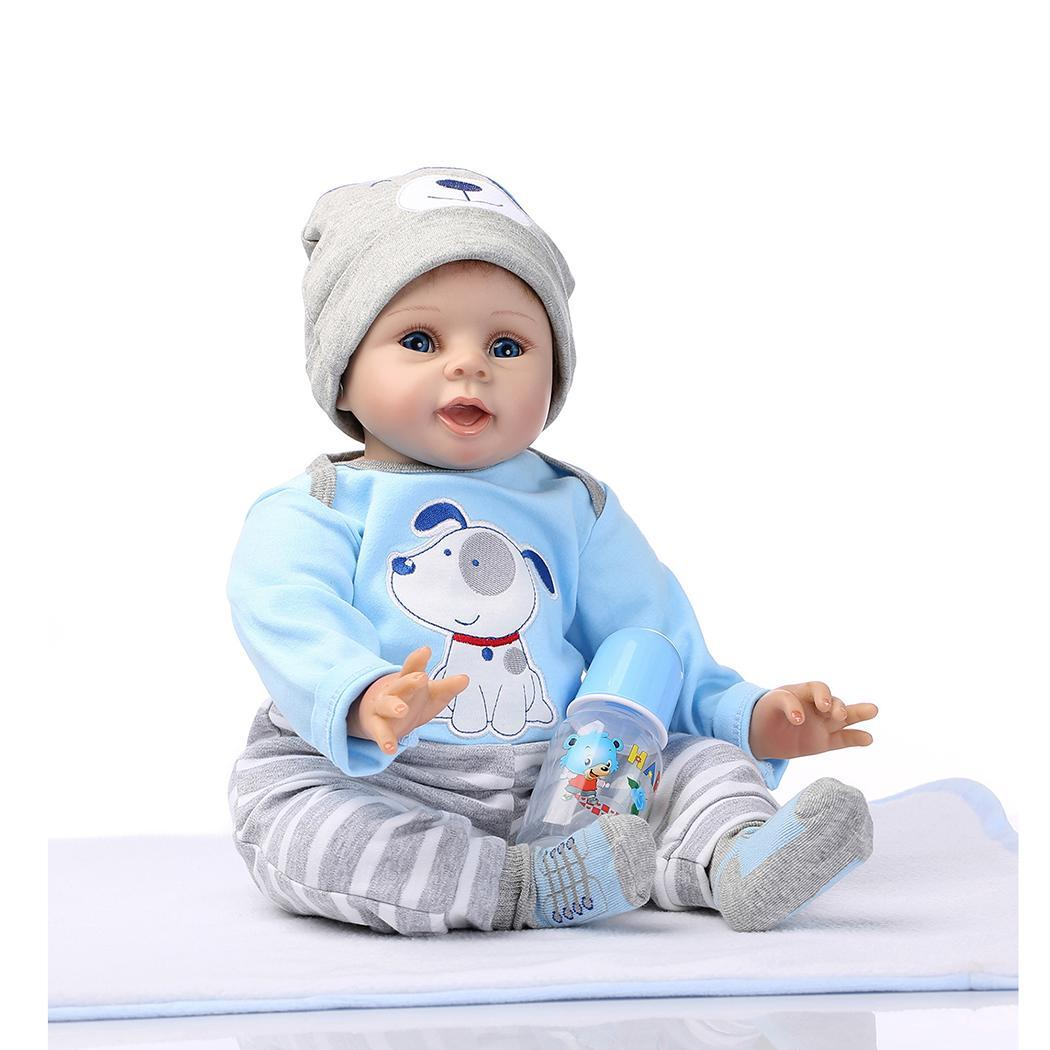 Portable Soft Clean Simulation Baby Doll 1 x Doll, 1 x Package Box 1 x Home Play Blue ToyPortable Soft Clean Simulation Baby Doll 1 x Doll, 1 x Package Box 1 x Home Play Blue Toy