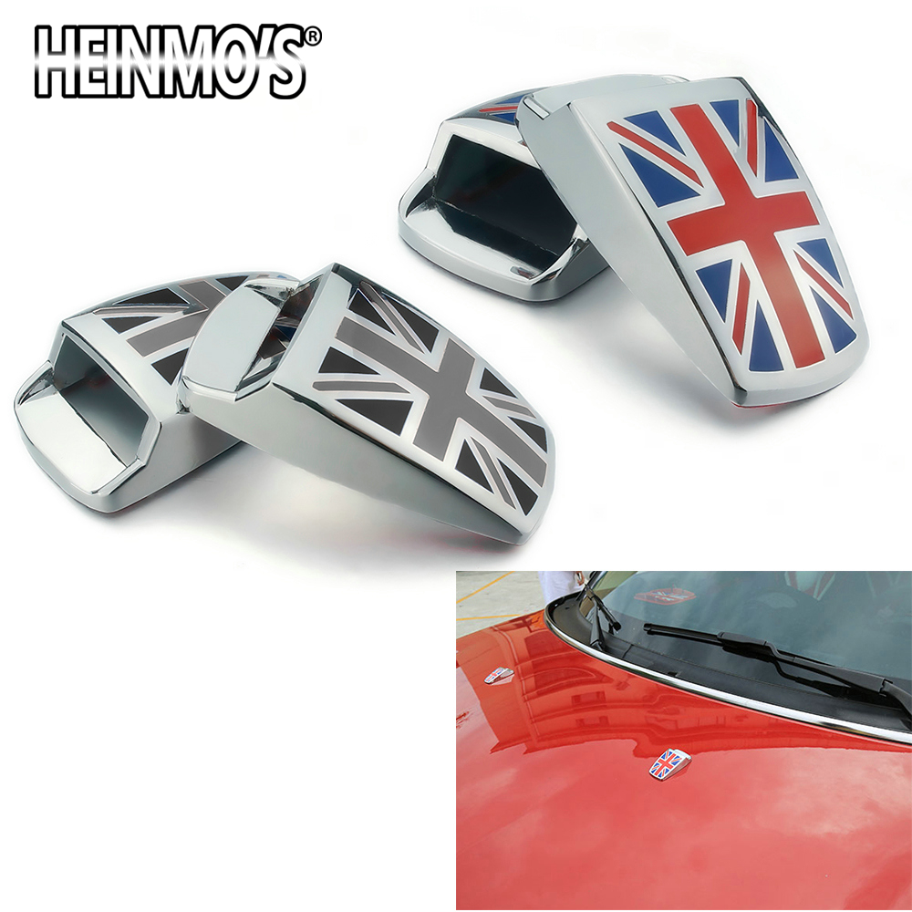 For MINI Cooper S One Countryman Clubman R50 R53 R55 R56 R60 R61 F54 F55 F56 F60 Car Accessories Wiper Water Spray Nozzle Cover