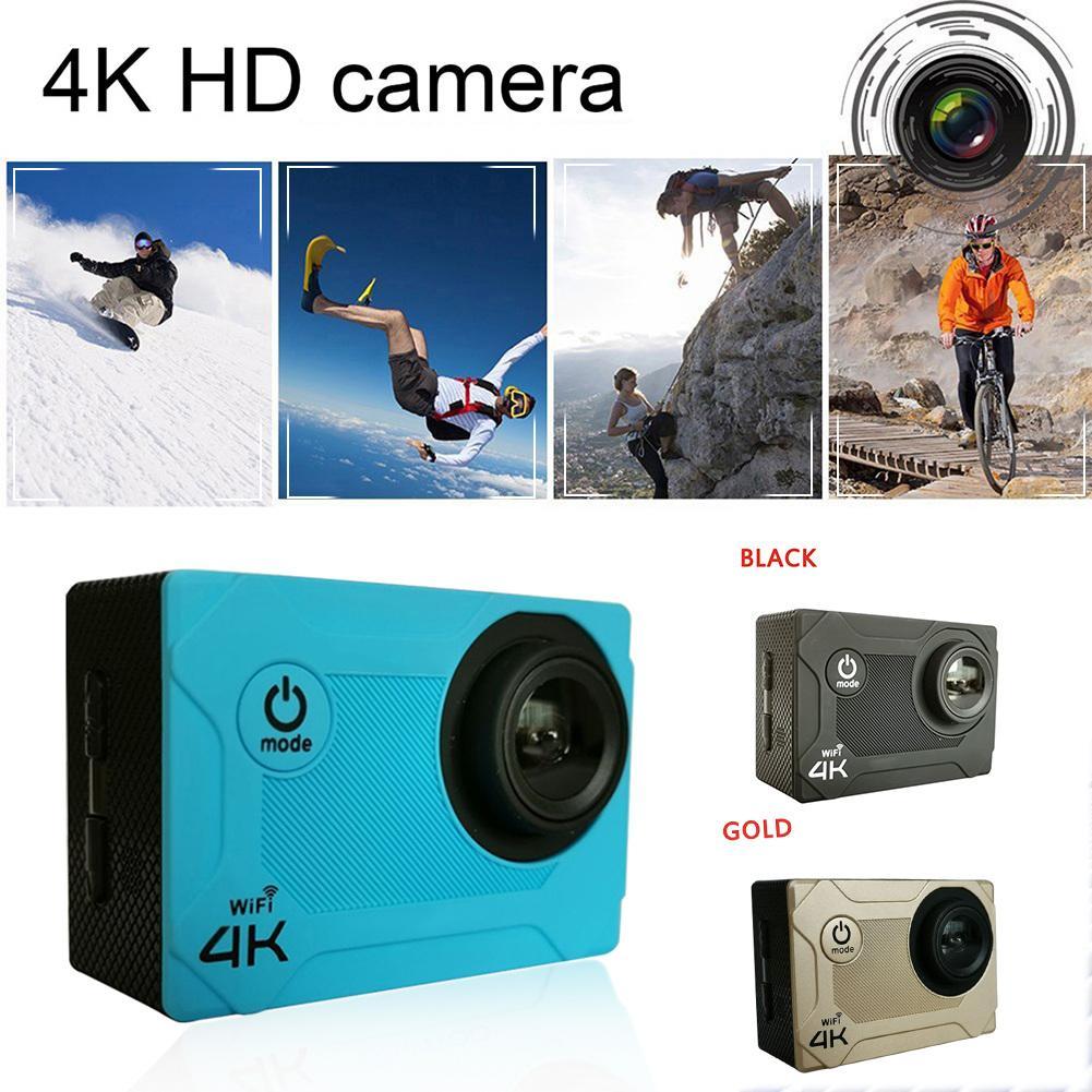 Caméra professionnelle HD pour HAMTOD S9 caméra de sport GC1034 120 degrés 2.0 pouces LCD 4 K qualité Support WIFI HD caméra de sport