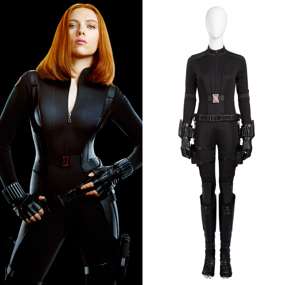 Us 151 9 5 Off New Captain America Civil War Natasha Romanoff Black Widow Cosplay Costume Halloween Outfit In Movie Tv Costumes From Novelty