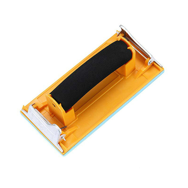 Sandpaper Frame Sand paper Clip For Polishing Woodworking Paint Hand Tools