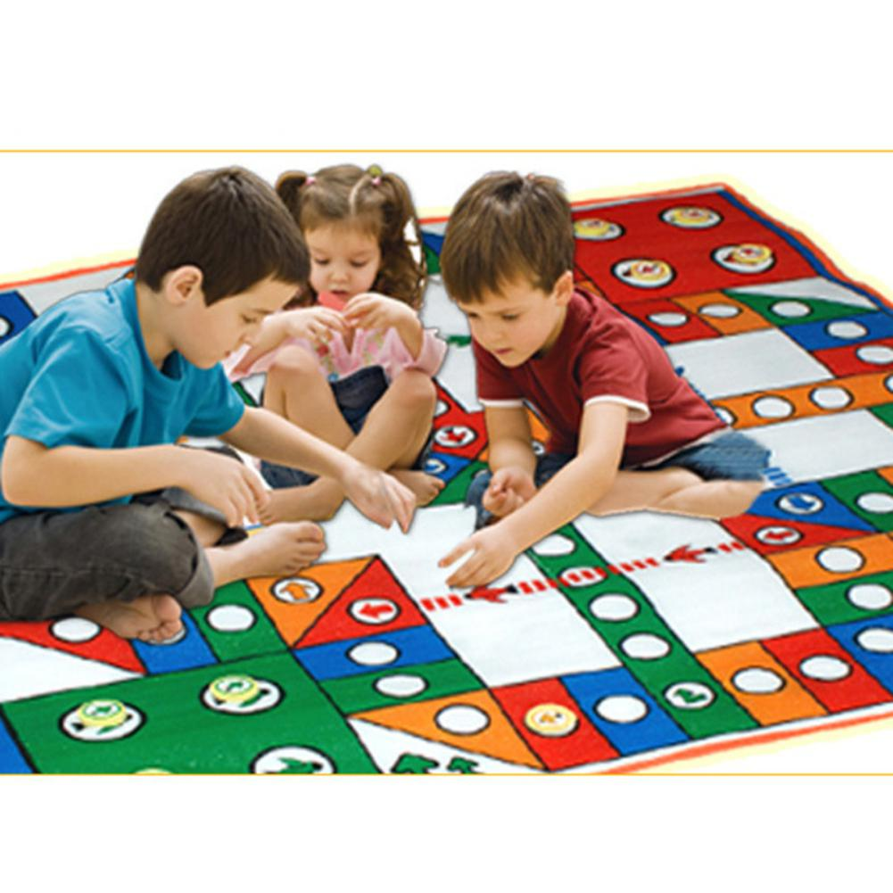 LeadingStar 80*80CM Baby Flight Chess Game With Crawling Mat Parent-Child Toy
