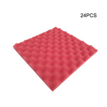 Recording Studio Acoustic Foam Soundproofing Foam Video Room Absorption Wedge Tiles Polyurethane foam Sound Noise Insulation(China)