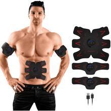 New Electro Stimulateur pour Abdominale Abdominale Sms Ems Corps Plus Mince  De Massage Musculaire Toner Fitness Formation Abdome. 37c58581880