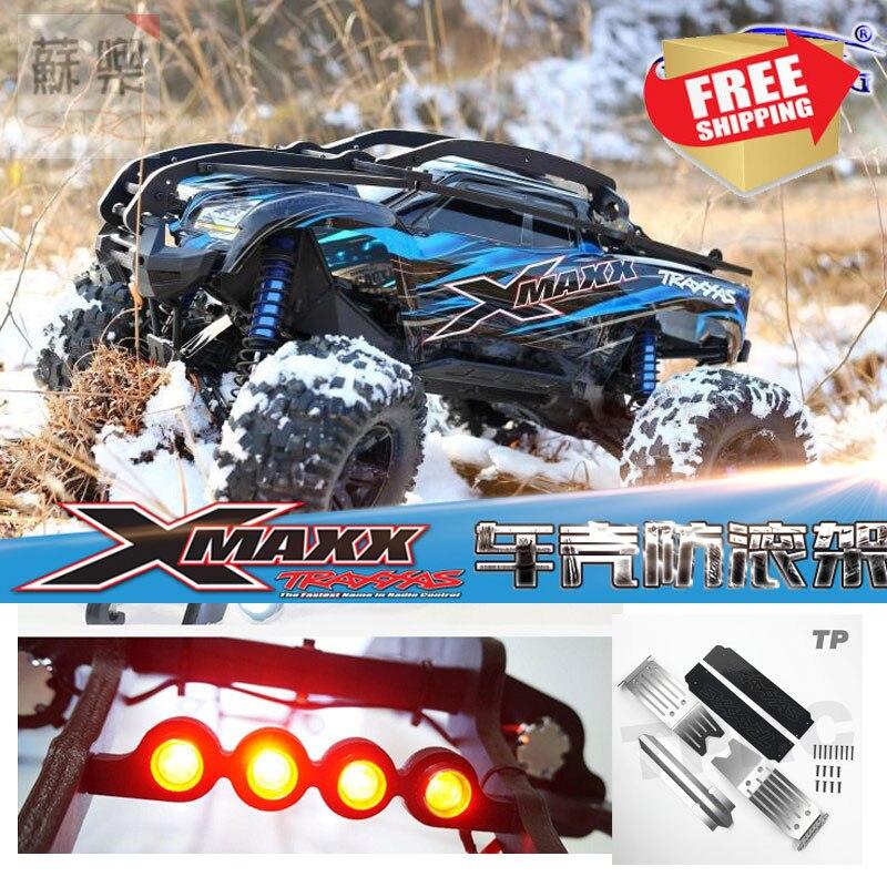 TRAXXAS X-MAXX Nylon Rouleau Cage arceau de sécurité Rc Voiture 1/5 XMAXX Corps Shell Protection 6 s/8 s NOUVELLE lumière led châssis Armure Dérapage plat