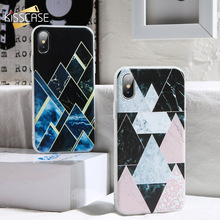 KISSCASE Abstract Agate Marble Phone Case For Huawei P20 10 Pro Lite P Smart Plus Mate 20 Honor 9 8X 7A 7C