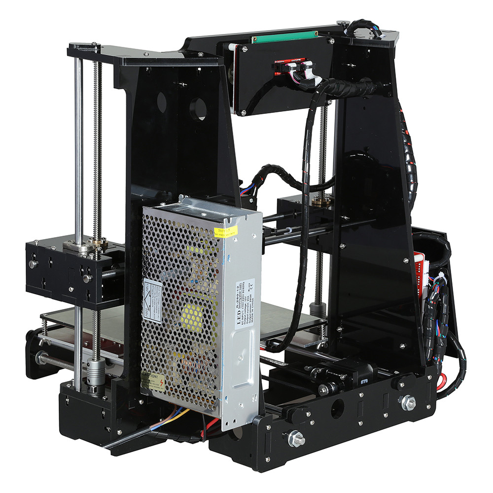Image 4 - Anet A6 高精度ビッグサイズのデスクトップ 3D プリンタキットの自己アセンブリ液晶画面 16 ギガバイト SD カード印刷サイズ 220*220*250 ミリメートル3D プリンタ   -