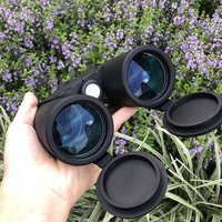 Optical glass lenses Metal mirror body Non slip Binoculars 10x42 FMC green film Outdoor bird mirror Large eyepiece