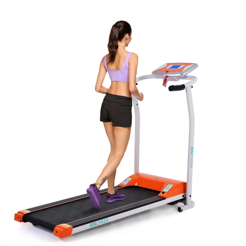 Nouveau tapis roulant électrique Mini pliant électrique course à pied entraînement Fitness tapis roulant maison EU US Plug sport fitness