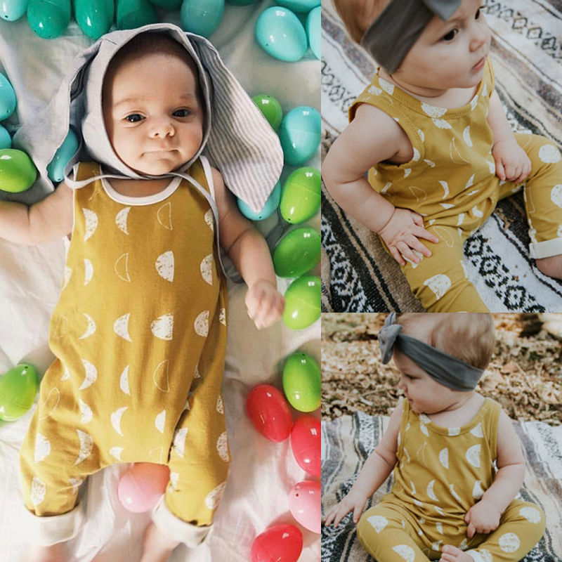 Pudcoco Baby Jumpsuits 0-24M Newborn Baby Boy Girl   Romper   Jumpsuit Playsuit Clothes Outfits
