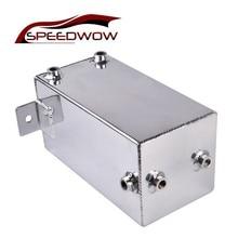 цена на SPEEDWOW Racing Car 4L Oil Catch Can Fuel Tank Water Tank Coolant Overflow Tank Reservoir Kit For Honda Civic Integra EK EG DC