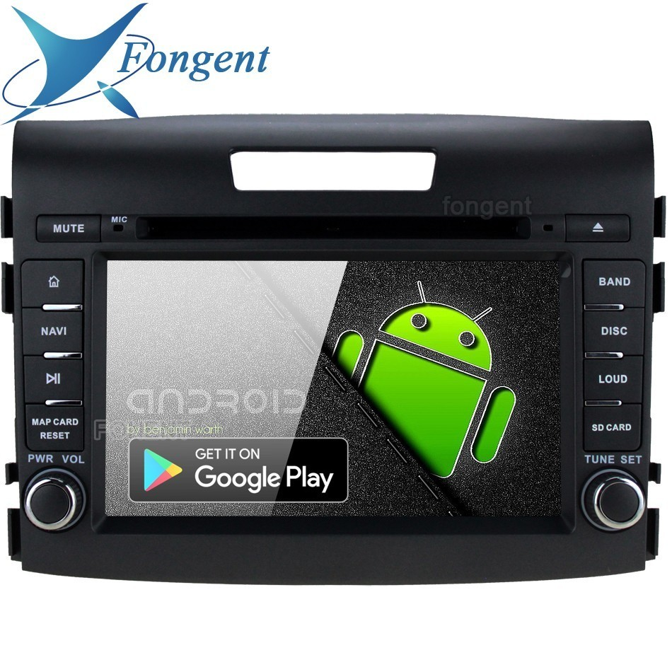Android 9.0 for Honda CRV 2012 2013 2014 2015 2016 Car DVD Multimedia Player Navigator GPS Radio Stereo 64GB ROM PX6 RK3399 Fit