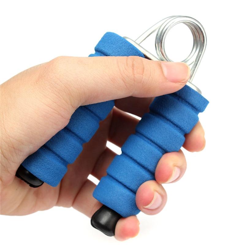 SGODDE 1PCS Fitness Grip Hand Grippers Strength Heavy Expanders Foam Spong Wrist Arm Finger Training Exerciser For Body Building