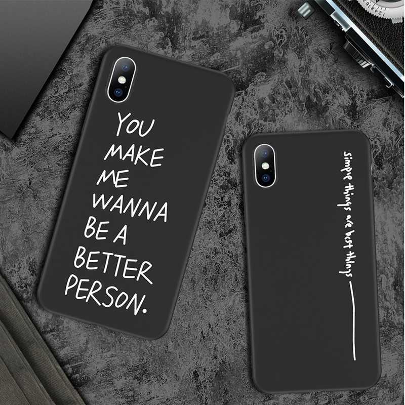 Lovebay suave TPU patrón funda cubierta de mate para iphone 7 8 6 6S Plus XS Max XR X parejas Luna planeta funda para iphone 5 y 5s SE