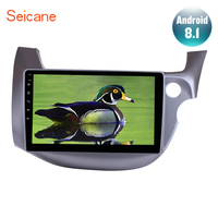 Seicane Android 7.1/8.1 10.1 inch Car Radio Stereo For 2007 2016 HONDA FIT JAZZ RHD 2Din Multimedia Player With WiFi OBD2