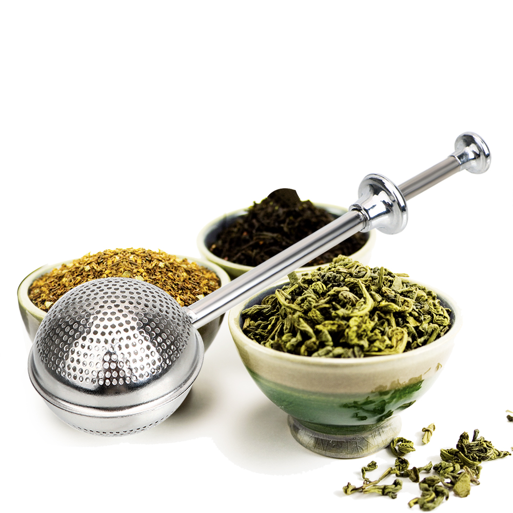 Metal Tea Bag Adjustable Reusable Tea Strainer Ball Stainless Steel Teapot Tea Infuser Filter Spice Tea Tool Accessories