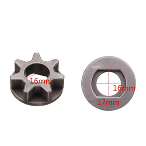 Image 5 - 1x M14/M16 Chainsaw Gear For 115 125 150 180 Angle Grinder Chain Saw Chainsaw Parts Bracket Replacement Power Tool Accessories