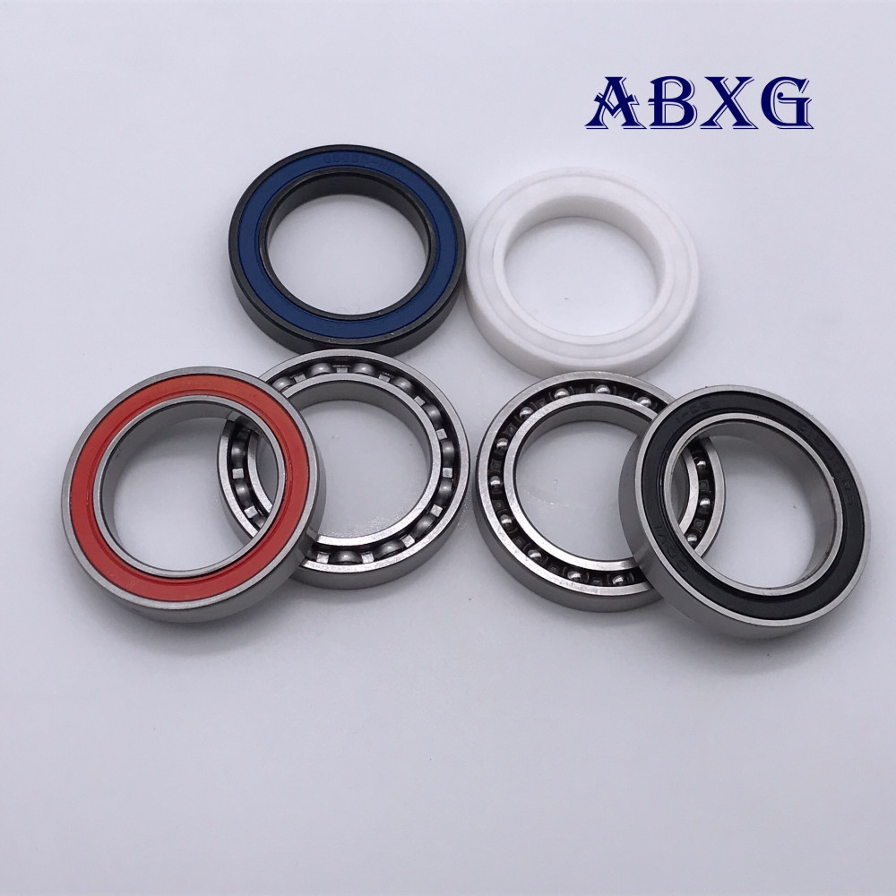 10pcs 6805RD 6805 61805 6805N 6805-RD ball bearing <font><b>25x37x6</b></font> mm bike bottom bracket repair bearing for HT2 BB51 GCR15 25376 BB86 image