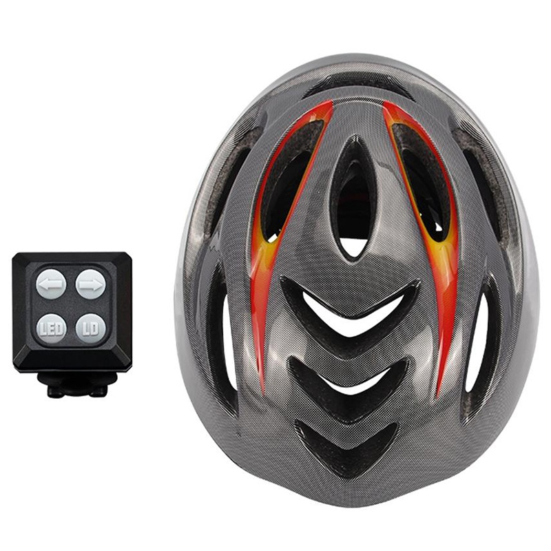 Unisex 57 62Cm Bike Helmet Cycling Light Smart Mtb Helmet Mountain Bike Accessory Usb Rechargeable Controller